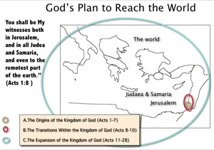 Jerusalem Judea Samaria And The Ends Of The Earth Map.Acts 1 6 8 The Lord S Great Plan