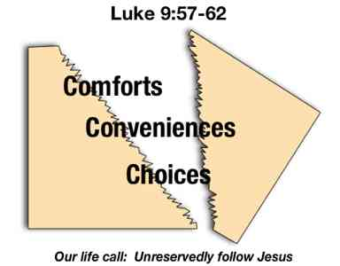 Image result for Luke 9 : 57-62 pictures