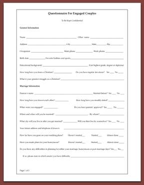 Printables Couples Counseling Worksheets christian premarital counseling manual for counselors an questionnaire engaged couples counseling