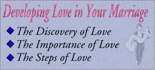 Developing Love in Your Marriage