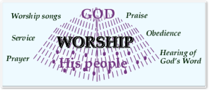 Worship at a cell group