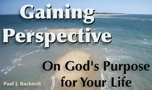 Purpose of our lives part of gaining perspective on god s purpose
