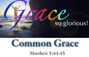 God's Common Grace