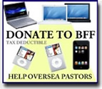 Help oversea pastors by making donations to BFF!
